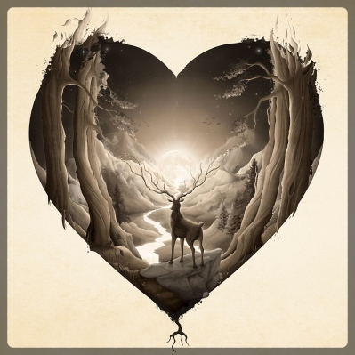 wild-stag-in-heart-forest_border