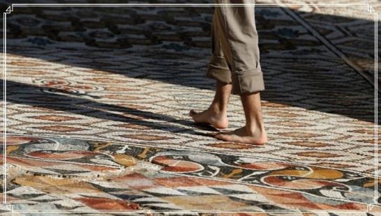 mosaic - walk on