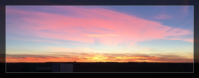 north dakota sunrise